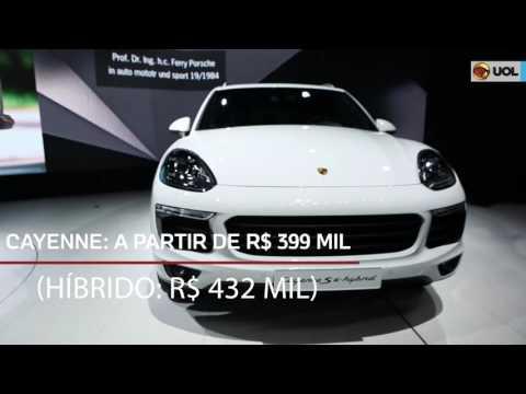 Cayenne híbrido é o destaque da Porsche no Salão de SP