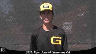 2020 Ryan Juric Pitcher Baseball Skills Video