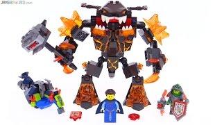LEGO Nexo Knights Infernox Captures the Queen reviewed! 70325