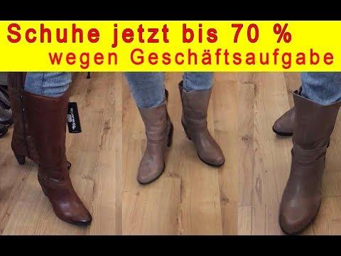 Schuhe günstig bei Räumungsverkauf wegen Geschäftsaufgabe in Berlin Charlottenburg