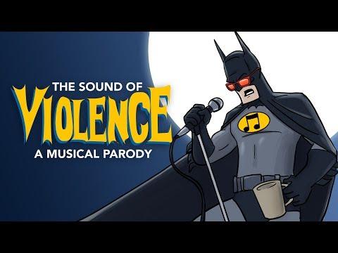 蝙蝠俠開金嗓啦~史上最黑暗、最爆笑的單曲!!《暴力的聲音》The Sound of Violence - A Sound of Silence Batman PARODY