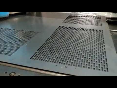 CNC perforated sheets