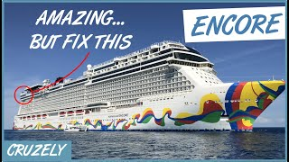 Norwegian Encore: We Loved Everything... Except This
