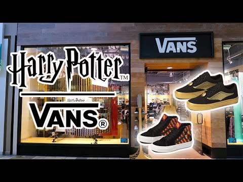 New Harry Potter Vans Collection | Shop with Me!