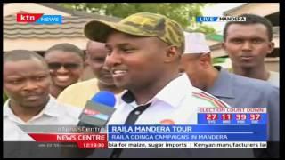 Raila Mandera tour: NASA campaign team to campaign in Mandera