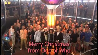 Merry Christmas From Doctor Who.