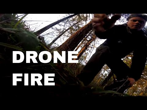 My Drone caught fire