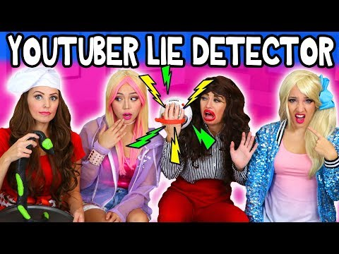 YouTubers take Lie Detector Test with JoJo, Wengie and Miranda Sings?  Totally TV