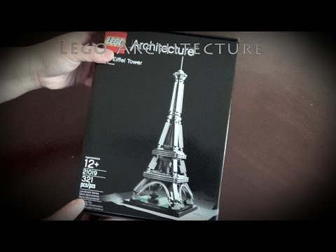 Vidéo LEGO Architecture 21019 : La Tour Eiffel (Paris, France)