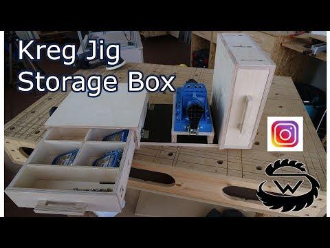 Kreg Jig Storage Box // Mobile Klappbox