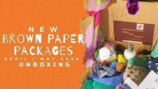 NEW!! | Brown Paper Packages By The Hutch Sisters | April/May 2020 Unboxing!!