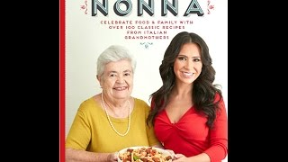 The Cooking with Nonna Cookbook Available for Pre Order