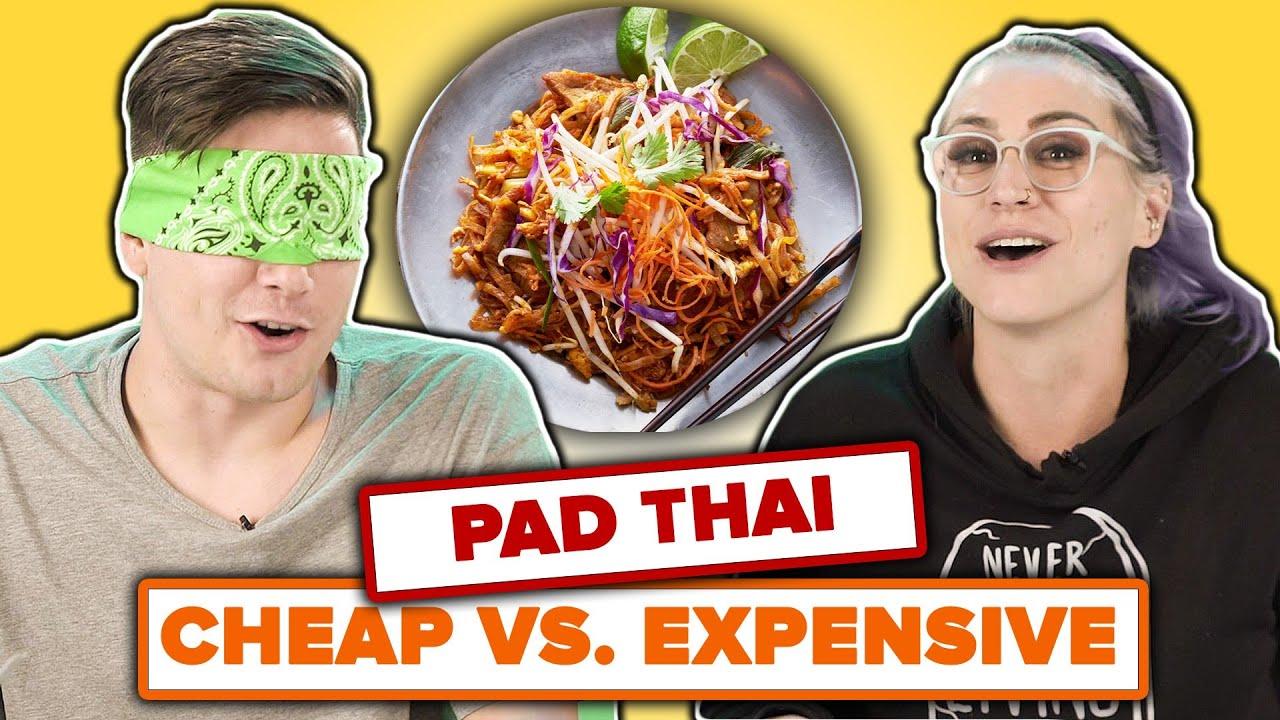 We Guess Cheap Vs. Expensive Pad Thai thumbnail