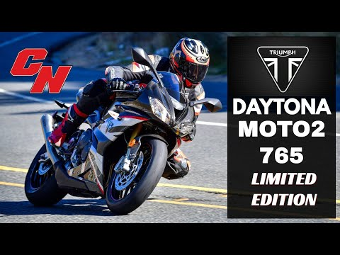2020 Triumph Daytona Moto2 765 Limited Edition in Belle Plaine, Minnesota - Video 2