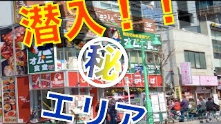 新大久保コリアンタウンマップグッとくる東京散歩新大久保駅多国籍の利用者が行きかうエスニックタウン