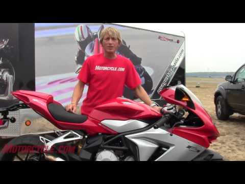 2013 MV Agusta F3 675 Review - New middleweight sportbike makes exotica almost affordable