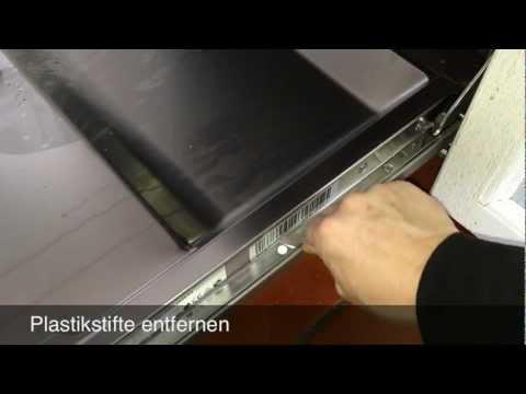 Einbauanleitung Beko Geschirrspüler DSN 6634 Green Line -  Möbelfront