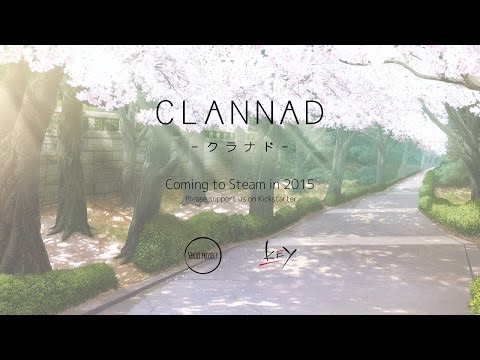 CLANNAD intro video subbed thumbnail