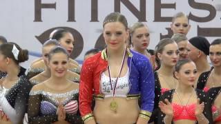 FISAF Aerobic and Fitness 2017 Louny - Fitness studio Hofmannovi - 15.4.2017