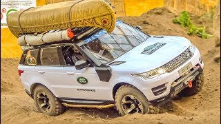 R/C Offroad Action! RC scale cars and trucks in hard terrain!