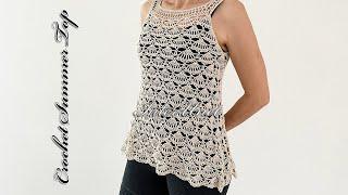 Flowy Lace Top Crochet Tutorial