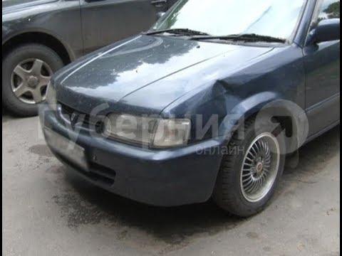 Нетрезвый велосипедист врезался в припаркованную в хабаровском дворе машину. Mestoprotv
