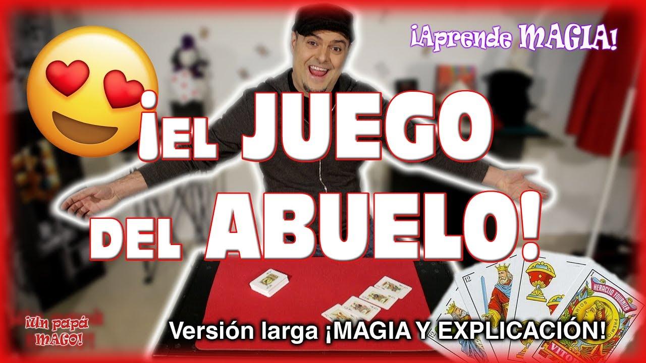TRUCO DE MAGIA | EL JUEGO DE MI ABUELO | APRENDE MAGIA | Is Family Friendly