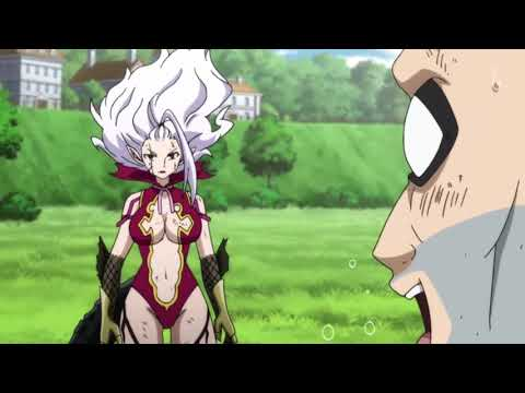 Fairy Tail Mira Jane VS Jacob Lessio Of Spriggan 12 .