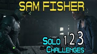 Solo 1-3 Challenges : Sam Fisher Operation Watchman Mission 🞔 Ghost Recon Wildlands 🞔No Commentary