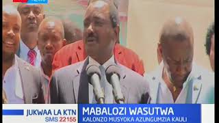 Kalonzo Musyoka attacks foreign envoys over their 'political stand' in the country