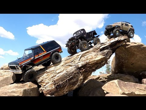 Three Guys Wheel Radio Controlled 4x4 Trucks - FORD, DODGE, TOYOTA  | RC ADVENTURES