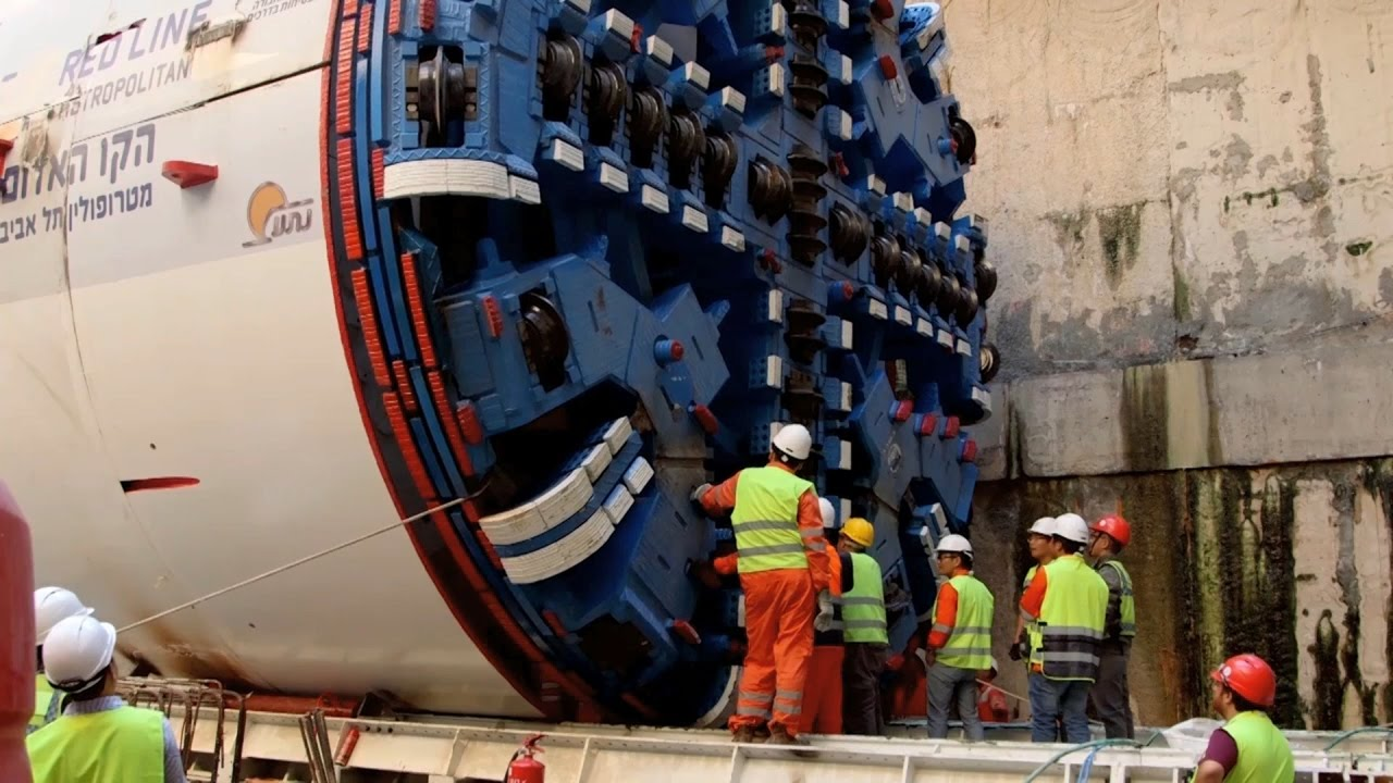 2017, año de construcción del primer metro en Israel