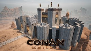 conan exiles how to keep people from climing walls
