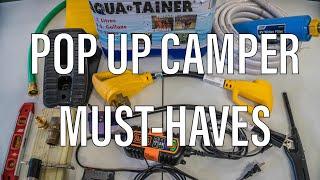 MUST-HAVE Pop Up Camper Accessories!