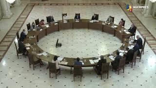 Preşedintele Iohannis - întâlnire la Palatul Cotroceni pe tema educaţiei; participă membri ai Guvernului