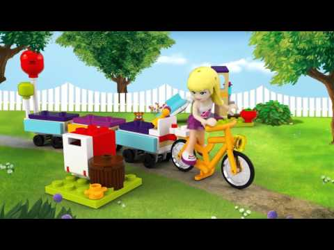 Vidéo LEGO Friends 41111 : Le train des animaux