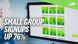How A Church Boosted Small Group Signups 76%