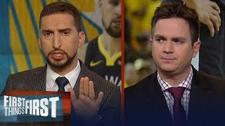 Klay Thompson suffers ACL tear in Finals loss, talks Draymond's future | NBA | FIRST THINGS FIRST