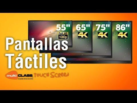 """Pantalla táctil multiCLASS Touch Screen de 86"""" - 4K UHD - con SO Android"""