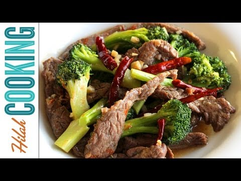 How to Make Beef with Broccoli | Hilah Cooking
