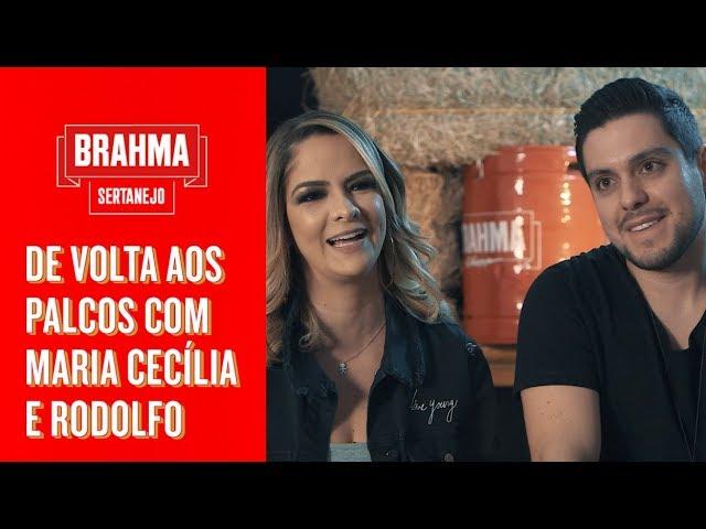 MARIA CECÍLIA E RODOLFO DE VOLTA