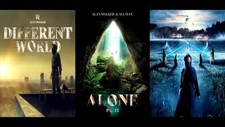 Alone II ✘ Lost Control ✘ On My Way [Remix Mashup] - Alan Walker, Ava Max, Sabrina Carpender & More