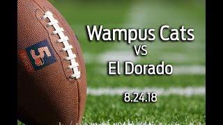 Conway Wampus Cats vs El Dorado 8/24/18
