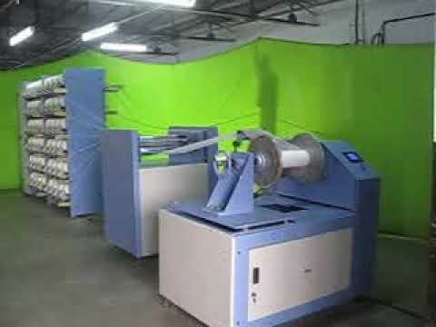 Elastic Yarn Warping Machine