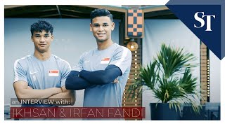 Get To Know Irfan And Ikhsan Fandi   The Straits Times