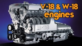The Only 6 V-18 Engines Ever