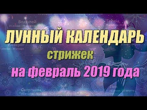 Лунный календарь стрижек на февраль 2019 года