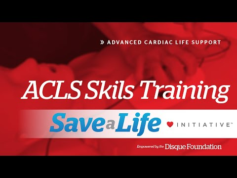 ACLS Skills Training, Advanced Cardiac Life Support (ACLS) (2020 ...