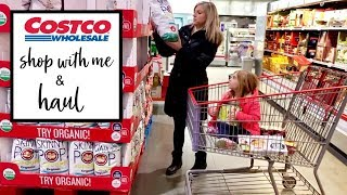 COSTCO SHOP WITH ME & HAUL   VLOG STYLE   MEAL PLANNING & PREPPING FOR BUSY MOMS