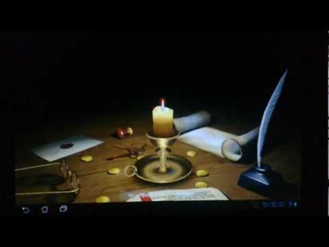 Video of 3D Melting Candle Free